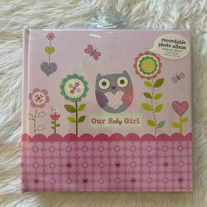 NEW Recordable  Stepping Stones Photo Album